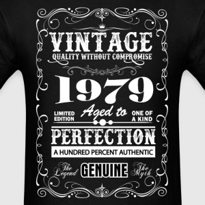Premium Vintage 1979 Aged To Perfection T-Shirts - Men's T-Shirt