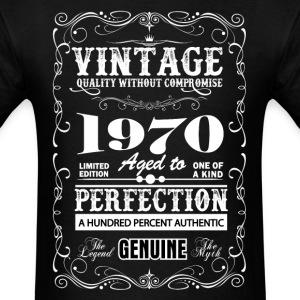 Premium Vintage 1970 Aged To Perfection T-Shirts - Men's T-Shirt