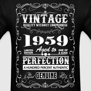 Premium Vintage 1959 Aged To Perfection T-Shirts - Men's T-Shirt