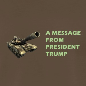 Tank Trump - Men's Premium T-Shirt