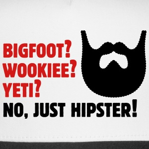 Bigfoot? Wookiee? Yeti? No, Just Hipster! Beard Sportswear - Trucker Cap