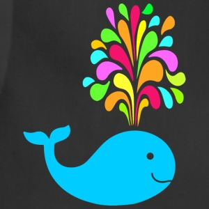 Funny colorful whale Aprons - Adjustable Apron