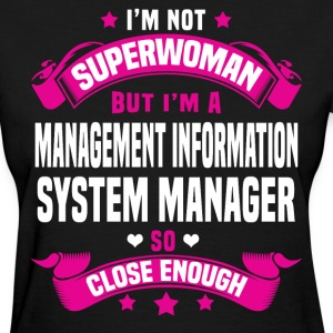 Management Information System Manager T-Shirts - Women's T-Shirt