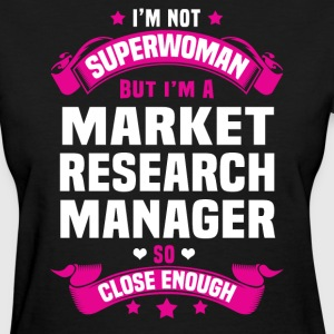 Market Research Manager T-Shirts - Women's T-Shirt