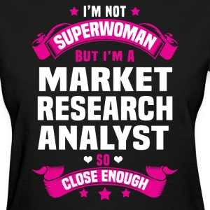 Market Research Analyst T-Shirts - Women's T-Shirt