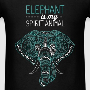 Elephant - Elephant is my spirit animal - Men's T-Shirt