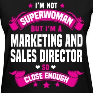 Marketing and Sales Director T-Shirts - Women's T-Shirt