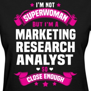 Marketing Research Analyst T-Shirts - Women's T-Shirt