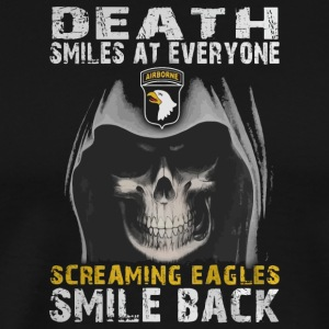Death smiles at everyone shirt - Men's Premium T-Shirt