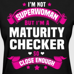 Maturity Checker T-Shirts - Women's T-Shirt