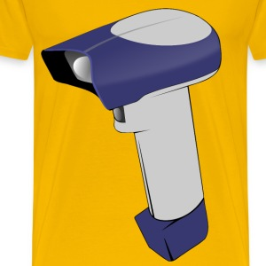Barcode Handheld Scanner - Men's Premium T-Shirt