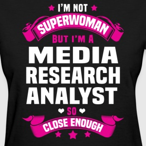 Media Research Analyst T-Shirts - Women's T-Shirt