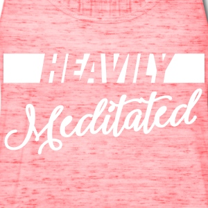 Heavily Meditated Tanks - Women's Flowy Tank Top by Bella