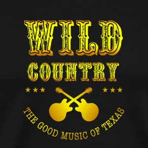 Wild West Country music - Men's Premium T-Shirt
