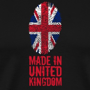 Made in United Kingdom / UK Great Britain - Men's Premium T-Shirt