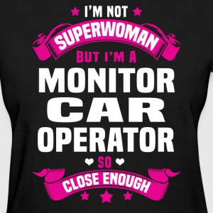 Monitor Car Operator T-Shirts - Women's T-Shirt