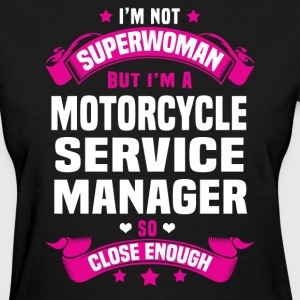Motorcycle Service Manager T-Shirts - Women's T-Shirt