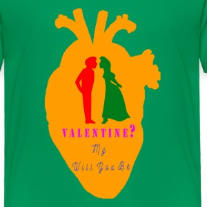 VALENTINE - Toddler Premium T-Shirt