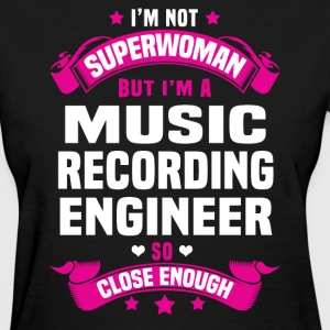 Music Recording Engineer T-Shirts - Women's T-Shirt