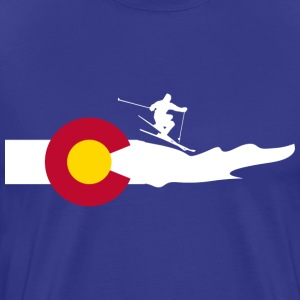 Colorado Ski T-Shirts - Men's Premium T-Shirt