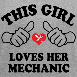 Loves Mechanic T-Shirts - Women´s Rolled Sleeve Boxy T-Shirt