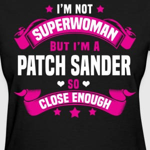 Patch Washer Tshirt - Women's T-Shirt