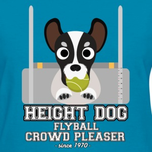 flyball height dog T-Shirts - Women's T-Shirt