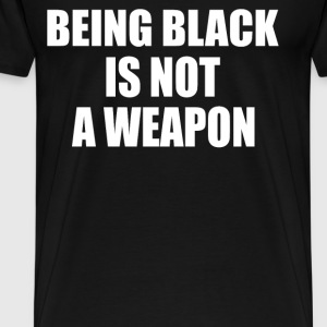 BEING BLACK T-Shirts - Men's Premium T-Shirt