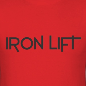 Iron lift - Men's T-Shirt