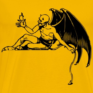 Reclining Devil - Men's Premium T-Shirt