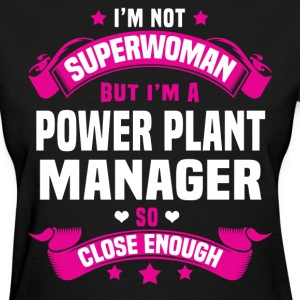 Power Plant Manager Tshirt - Women's T-Shirt