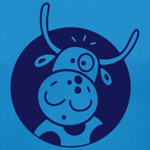 Happy Cow T-Shirts - Women's V-Neck T-Shirt