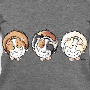 Funny Guinea Pigs Long Sleeve Shirts - Women's Wideneck Sweatshirt