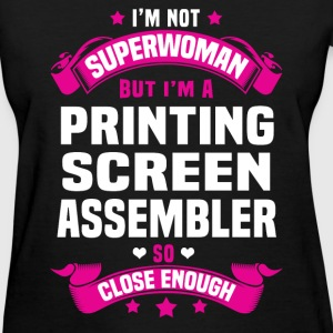 Printing Screen Assembler Tshirt - Women's T-Shirt