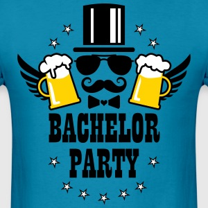 Groom Wedding Stag night bachelor Beer party T-Shi - Men's T-Shirt