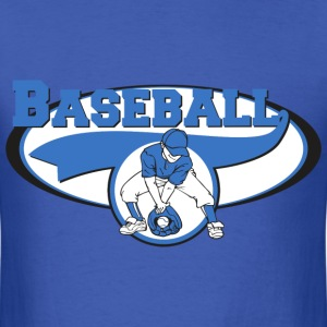 Baseball Logo - Men's T-Shirt