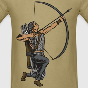 Indian Warrior - Men's T-Shirt