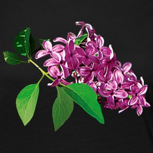Small Cluster of Pink Lilacs Long Sleeve Shirts - Women's Premium Long Sleeve T-Shirt