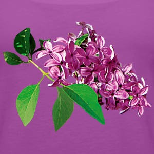 Small Cluster of Pink Lilacs Tanks - Women's Premium Tank Top
