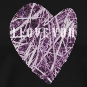Heart PINKGLOW - Men's Premium T-Shirt