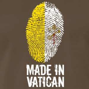 Made In Vatican / Pope / Catholicism / Christ - Men's Premium T-Shirt