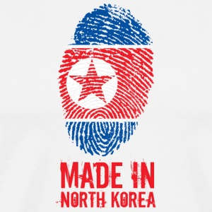 Made In North Korea / 조선민주주의인민공화국 - Men's Premium T-Shirt
