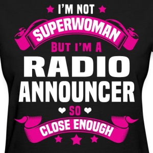 Radio Announcer Tshirt - Women's T-Shirt