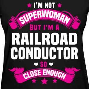 Railroad Conductor Tshirt - Women's T-Shirt