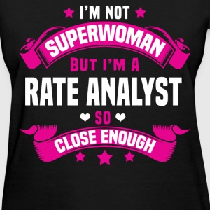 Rate Analyst Tshirt - Women's T-Shirt