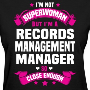 Records Management Manager Tshirt - Women's T-Shirt