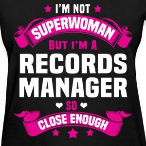 Records Manager Tshirt - Women's T-Shirt