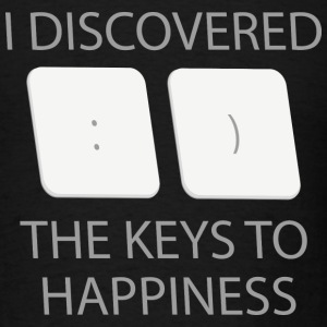 Keys To Happiness - Men's T-Shirt