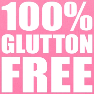 100% Glutton Free Diet Humor Bags & backpacks - Tote Bag