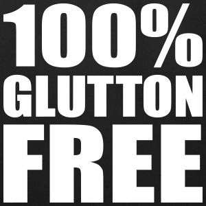 100% Glutton Free Diet Humor Bags & backpacks - Eco-Friendly Cotton Tote